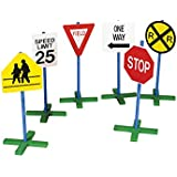 Guidecraft Drivetime Signs - Set of 6 G3060
