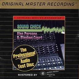 Professional Audio Test Disc