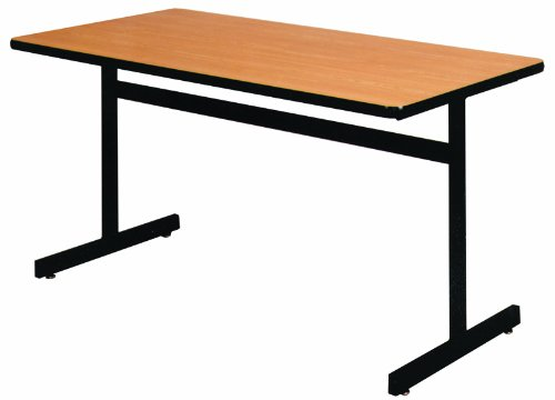 Ironwood Rectangle Pedestal Base Table