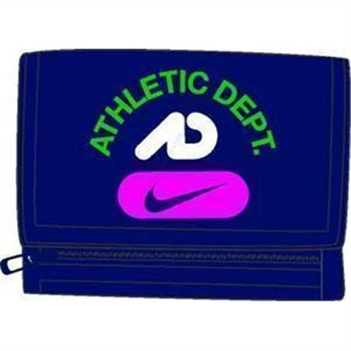 Nike ACC Basic Wallet 09 Portafoglio, Blu/Granate/Giallo, Unica