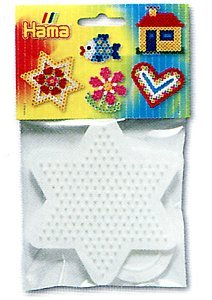Hama Beads Pegboard Bag Geometic Shape Square/Round/Hexagon