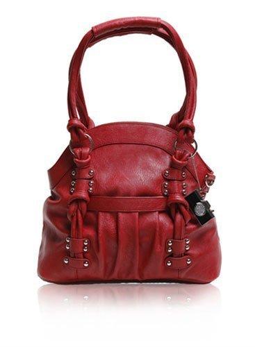 Epiphanie Lola Shoulder Camera Bag, Red