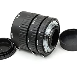Meike 12mm 20mm 36mm 3-Piece Automatic Macro Extension Tube Set for Nikon