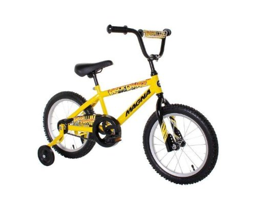 Dynacraft-Magna-Major-Damage-Boys-Bike-16-Inch-YellowBlack