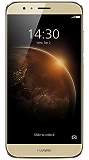 Huawei G8, Smartphone, Display Touch 5.5 pollici (13.97cm), 32 GB Memoria Interna, 3 GB RAM, 4G, Android 5.1, Dual SIM, Oro