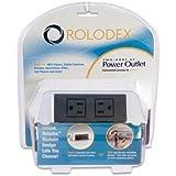 Rolodex 2-Port Power Outlet Hub