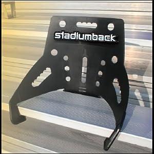 Stadium Back Bleacher Seat from Stadium Back