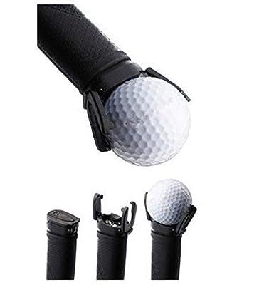 77tech Mini Golf Ball Pick up Tool Golf Ball Retrievers Easy to Use and Fits All Putter Ball Retriever, Black