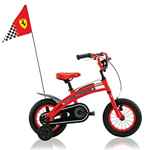 Amazon.com : Ferrari CX-10 12-Inch Kids Bike : Childrens Bicycles