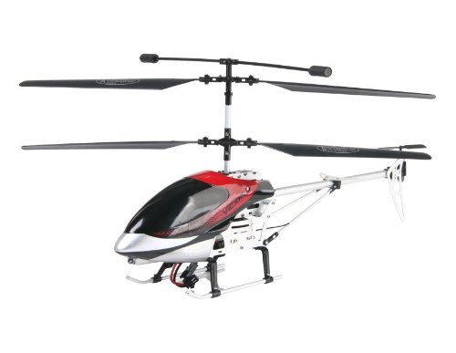 SENXIANG S02 3.5-Channel R/C Helicopter with Gyroscope (Red)