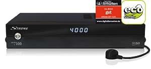 Strong SRT 7100 HDTV Digitaler Satelliten-Receiver (DVB-S/PVR-Ready, 1x Scart-Anschlüsse, USB 2.0)
