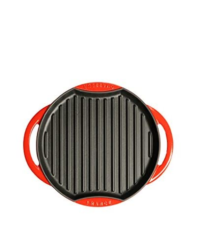 Chasseur 10 Cast Iron Sun Grill, Red