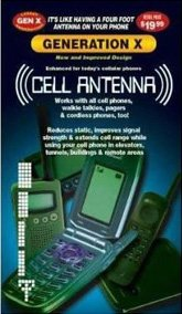 5 Pack of Universal Generation X Cell Phone Antenna