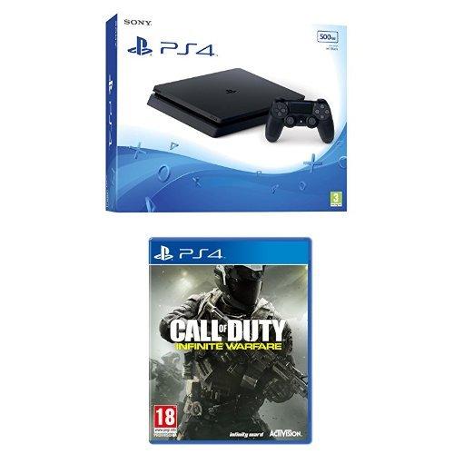 PlayStation 4 500 Gb D Chassis Slim + Call of Duty: Infinite Warfare