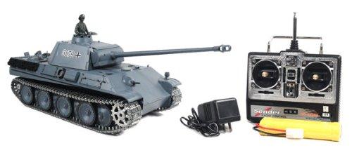 1/16 German Panther Type G Airsoft RC Battle Tank Smoke & Sound (Upgrade Version w/ Metal Gear & Tracks)