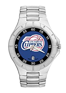 Los Angeles Clippers Mens Pro II Watch by Logo Art