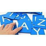Juegos de Aprendizaje de Alfabeto de Letras Minúsculas Madera Niños