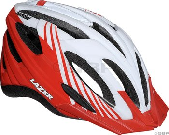 Buy Low Price Lazer Vandal Helmet with Visor: White/Red (BLU2005664887)
