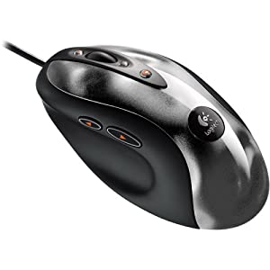 41BQVE1SXZL. SL500 AA300  Logitech MX 518 High Performance Optical Gaming Mouse   $25 After Mail in rebate