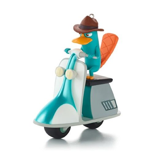 Agent P Saves The Day! – Disney Phineas and Ferb 2013 Hallmark Ornament