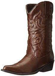Madden Girl Women\'s Sanguine Boot,Brown Paris,8.5 M US