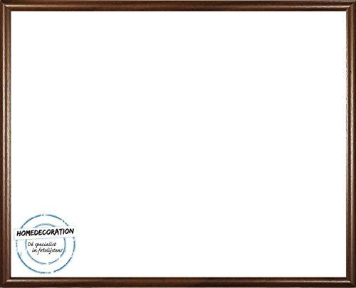 rotterdam kunststoff bilderrahmen 70x100 cm 100x70 cm farbauswahl hier braun mit acrylglas. Black Bedroom Furniture Sets. Home Design Ideas