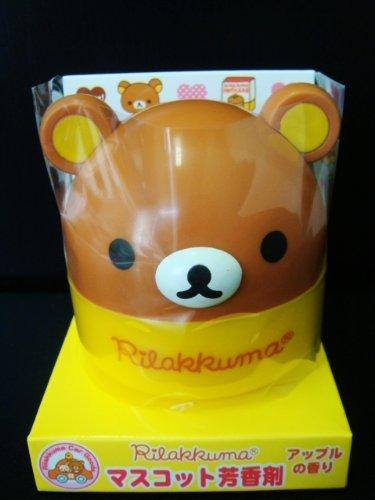 San-X Rilakkuma Yellow Car home Air Freshener fragrance *Soap Scent*