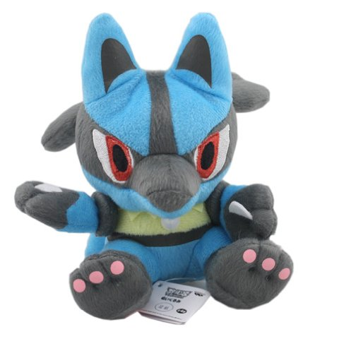 41BQbDqy3%2BL 5.5 Pokemon Pokedoll Plush Doll USA   Lucario