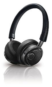Philips Fidelio Casque Audio M1BTBL/00 Bleu nuit avec Bluetooth et fonction micro / prise d'appel intégrée