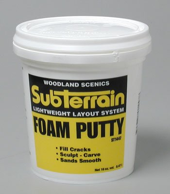Woodland Scenics Foam Putty, Pint WOOST1447 Picture