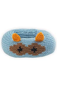 Joobles Organic Baby Rattle - Racky the Racoon