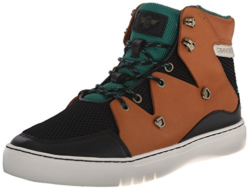 Creative Recreation Men'S Spero Sneaker, Black/Tan/Green, 10.5 M Us