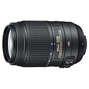 $249 Nikon 55-300mm f/4.5-5.6G ED VR AF-S DX Nikkor Zoom Lens for Nikon Digital SLR