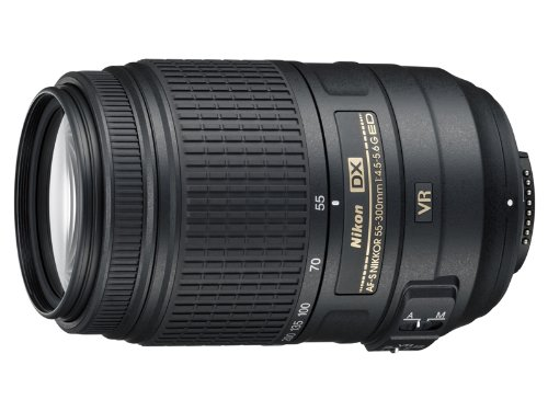 Nikon 55 300mm f 4 5 5 6G ED VR AF S DX Nikkor Zoom Lens for Nikon Digital SLR