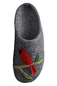 Giesswein Cardinal Boiled Wool Slipper