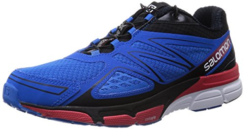 Salomon - X-Scream 3D, Scarpe Da Trail Running da uomo, blu (union blue/black/quick), 42