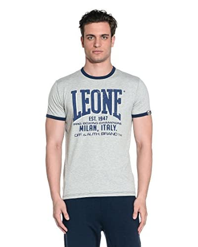 Leone 1947 T-Shirt Manica Corta LSM613/SS15 [Blu Chiaro]