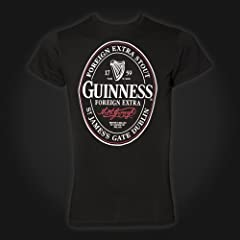 Guinness Black Oval Label Tee