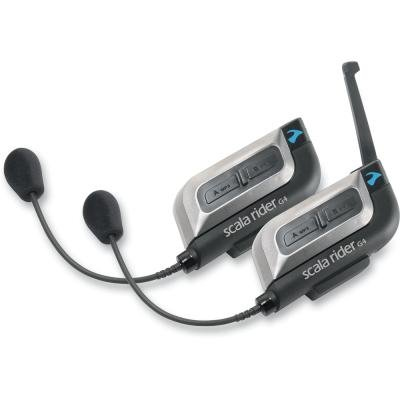 Scala Rider Cardo G4 Motorcycle Headset System