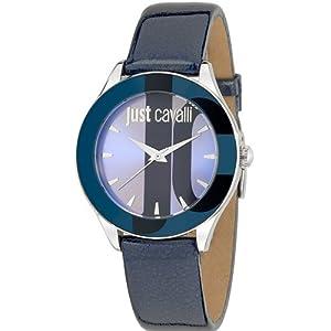 Just Cavalli R7251592503 Women's Silk Purple Dial Watch