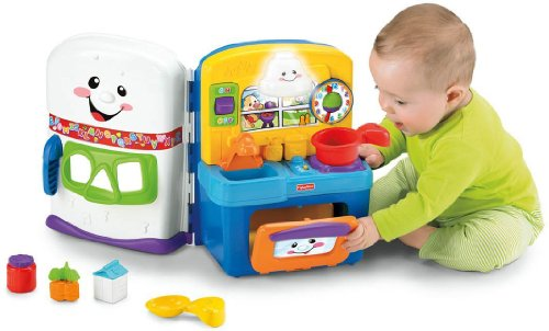 Fisher-Price Laugh & Learn Learning Kitchen (Girl Fisher Price Toys compare prices)