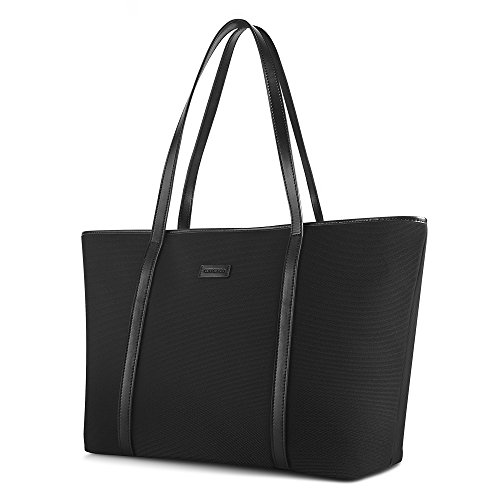 07. CHICECO Basic Spacious Travel Tote Shoulder Bag - Oxford Nylon / 20.5-Inch Length