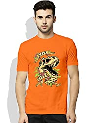 Life finds a way Orange T-shirt