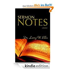 Sermon Notes, Volume 1
