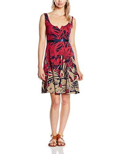 Desigual Damen A-Linie Kleid JASMINE, Knielang, Gr. 32 (Herstellergröße: XS), Rot (SANGRIA 3161) thumbnail