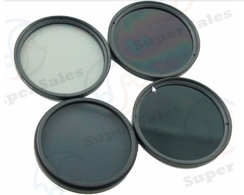 58MM NEUTRAL DENSITY ND FILTER 2/4/8/16 KIT FOR CANON 18-55MM 55-250MM LENS  available at amazon for Rs.240