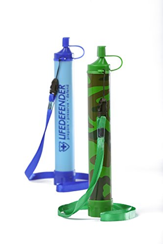 Best Water Filter Straws for Camping, Hiking, Hunting - Lightweight Survival Filter - 50% More Filtration Capacity Than LifeStraw - No Added Taste - Removes Heavy Metals & 99.9% of Waterborne Bacteria (Sawyer Family Water Filter compare prices)