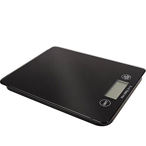 Balance De Cuisine En Verre Mince Numérique LCD Électronique Postale Alimentaire 5kg [version:x8.5] by DELIAWINTERFEL