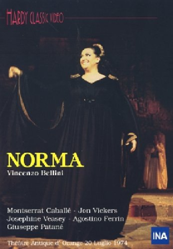 Norma (M.Caballe-Vickers-Veasy) - Bellini - DVD