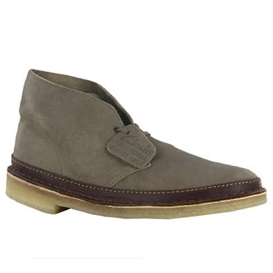 Clarks Originals Desert Guard Taupe Suede Mens Boots Size 12.5 US